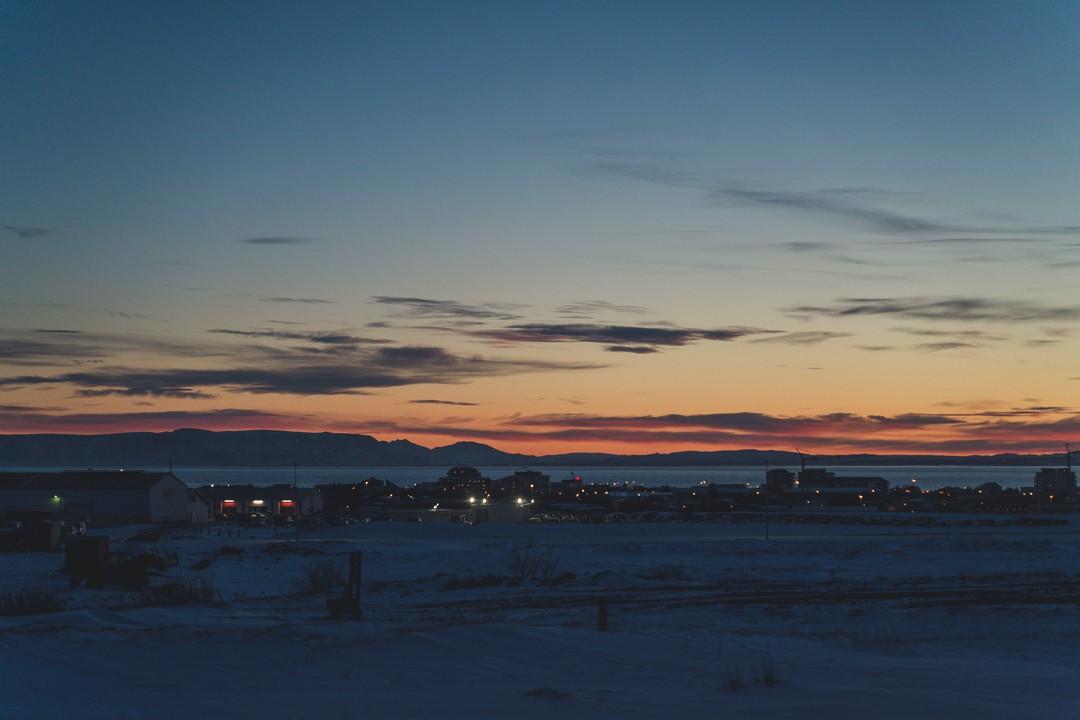 Sunrise Reykjavík