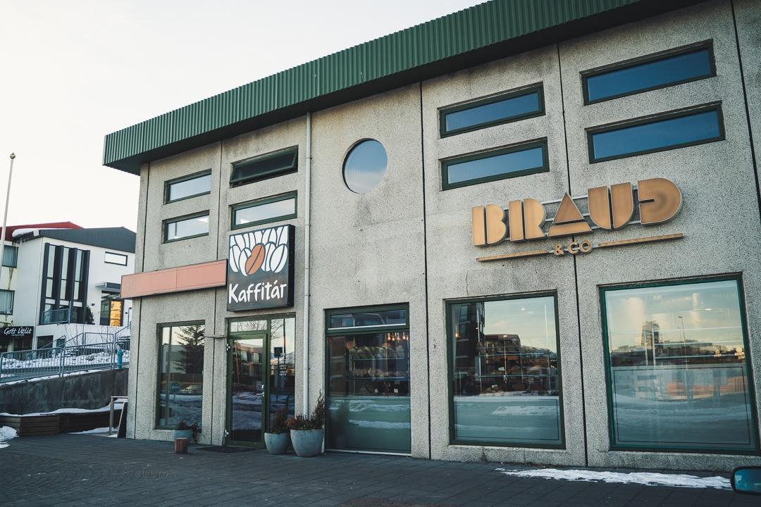 Kaffi Shop in Reykjavík