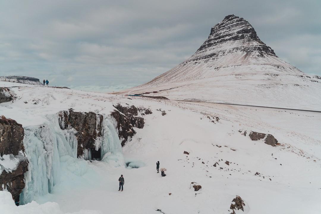 Kirkjufell Winter