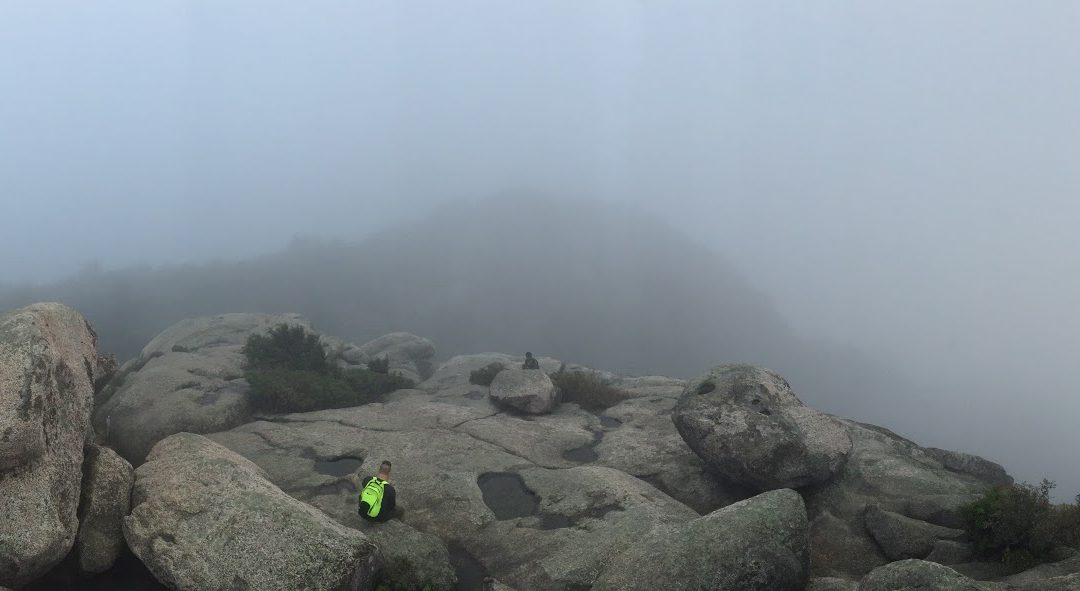 Old Rag CLouds Panorama