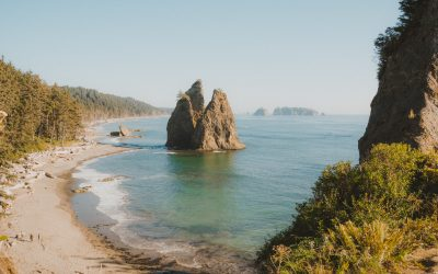 Backpacking to Hole in The Wall | Olympic National Park